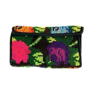 Festival Floral Tapestry 100% Cotton Wallet Bright